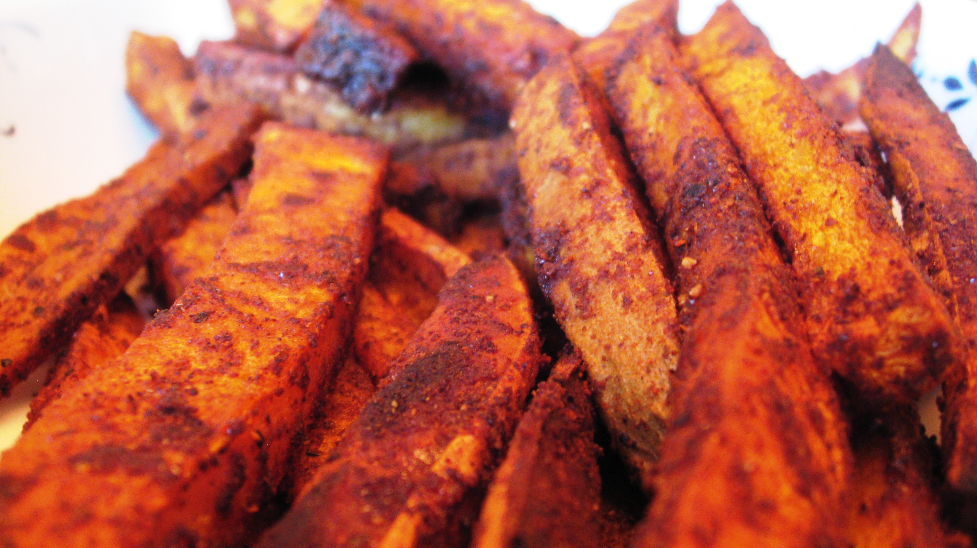 Spiced Butternut Squash Fries | Nutty Kitchen