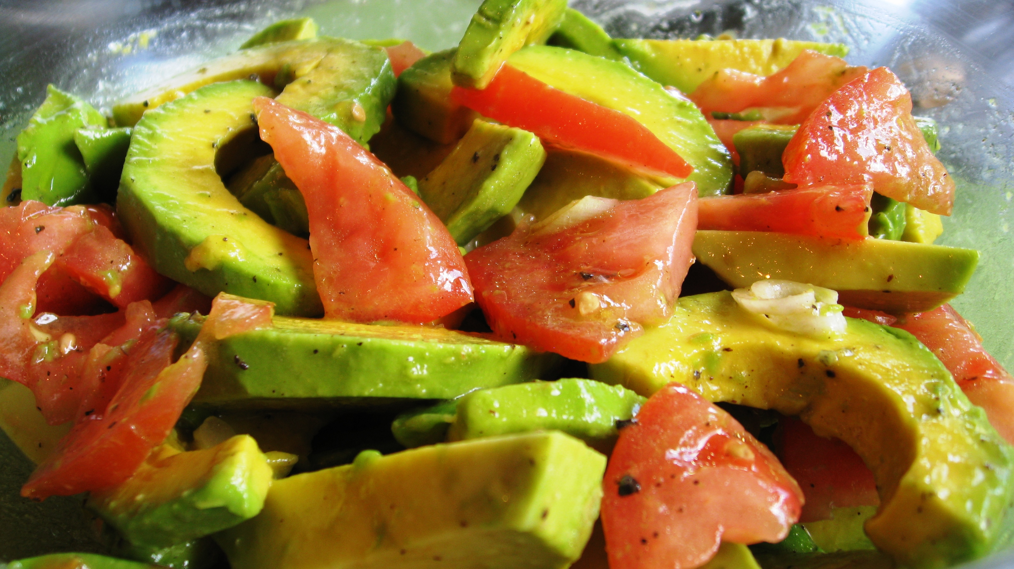 ensalada de agucate y tomate avocado and tomato salad. Black Bedroom Furniture Sets. Home Design Ideas