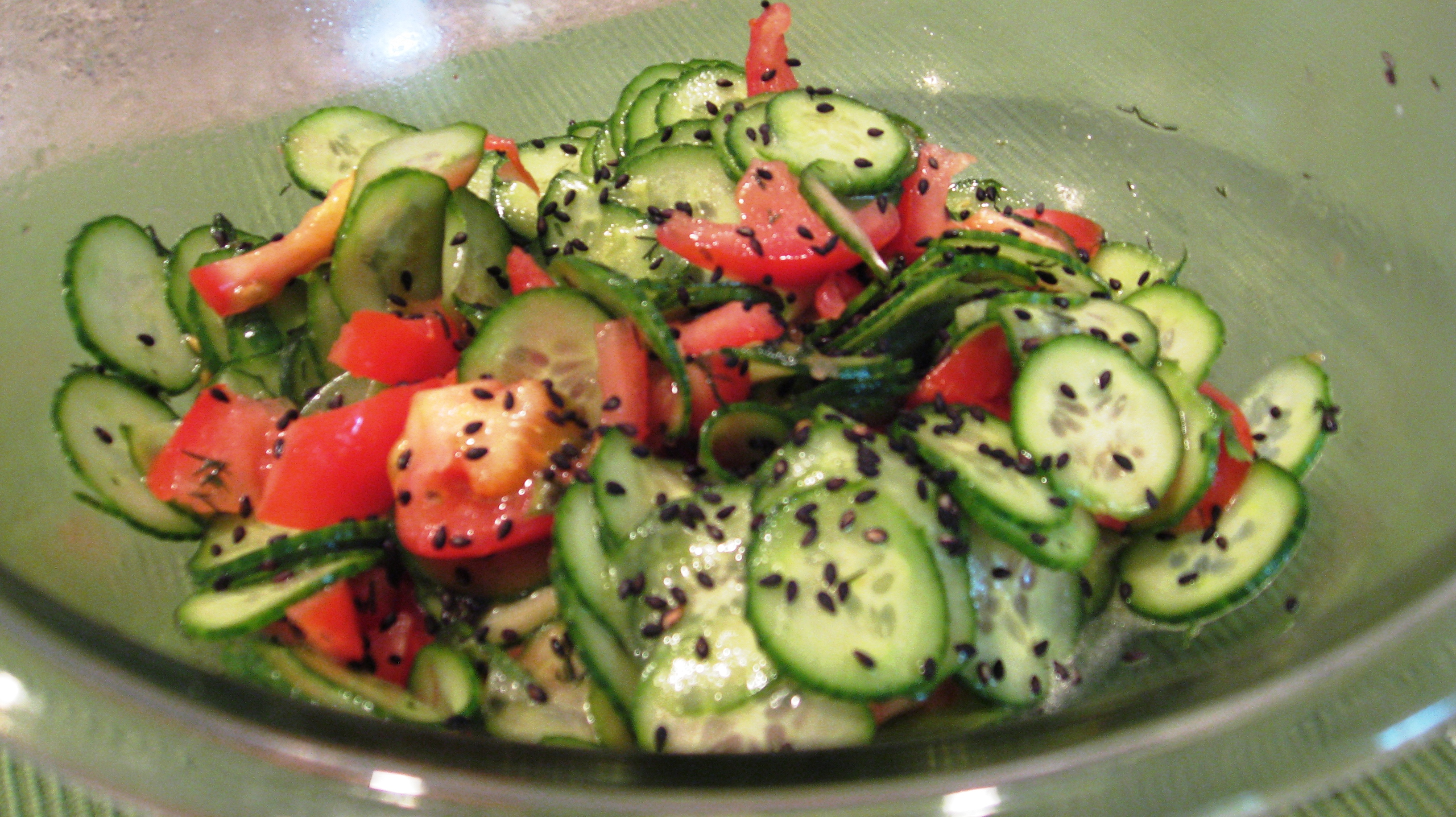 Persian Cucumber Salad | Nutty Kitchen