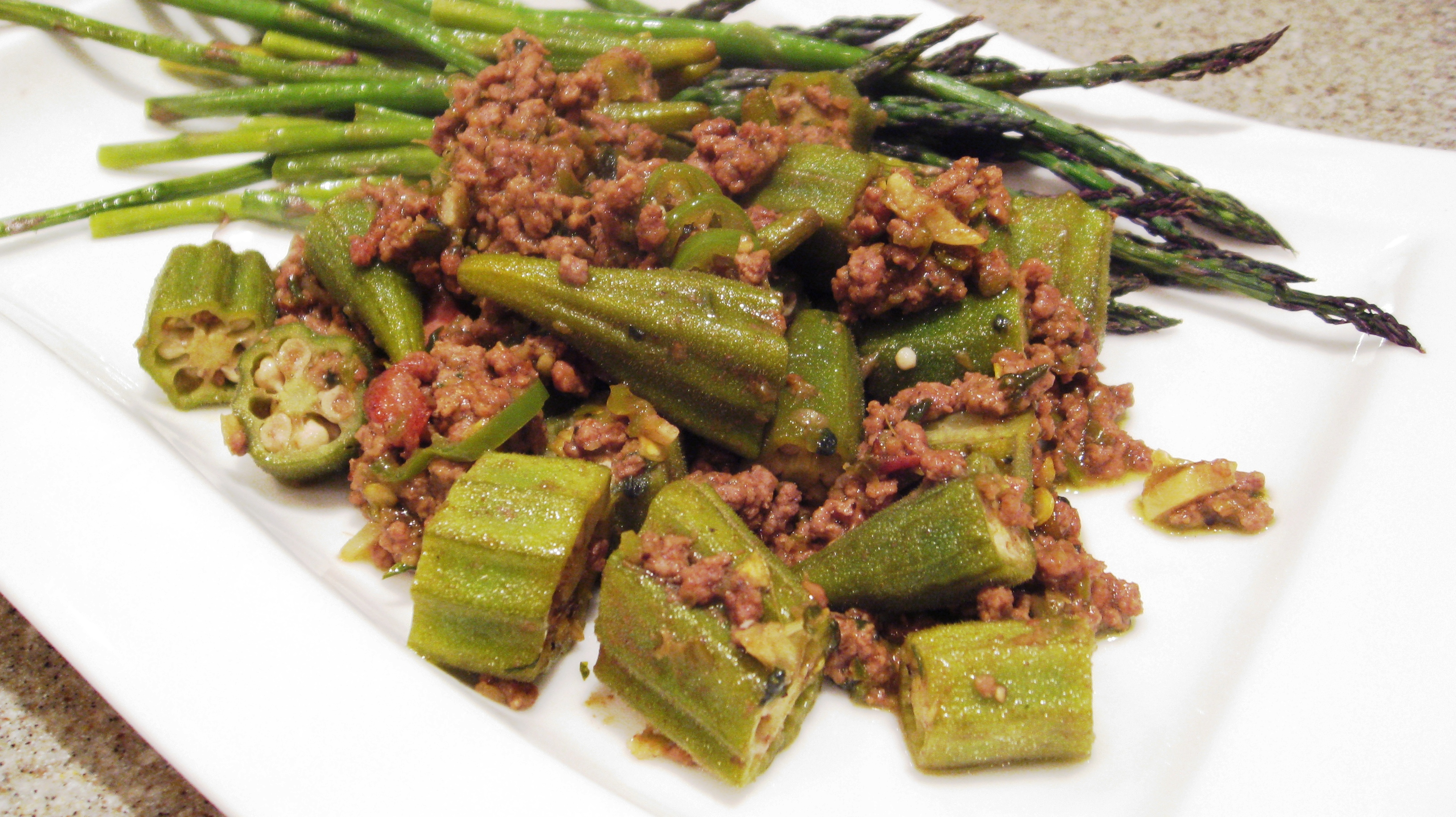 Healthy dishes with ground beef