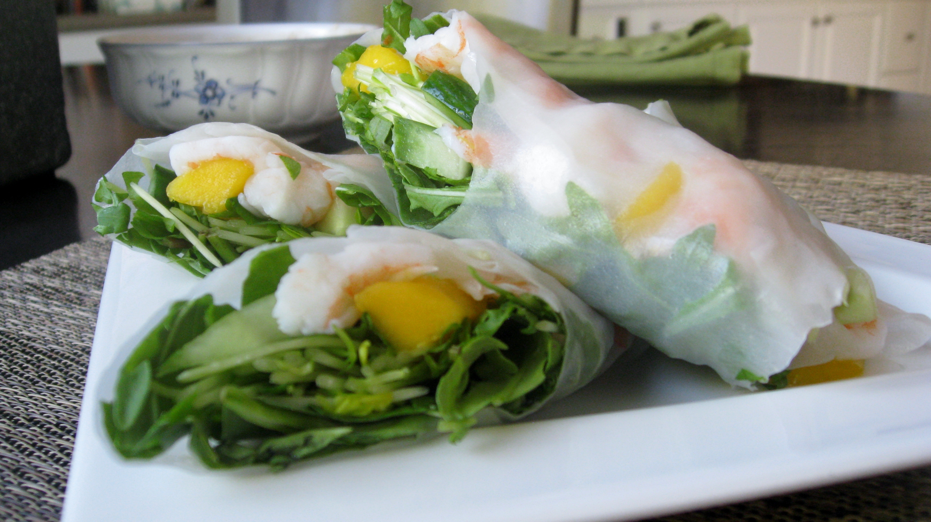 ... spring rolls ceviche spring rolls whole spring rolls and some ceviche